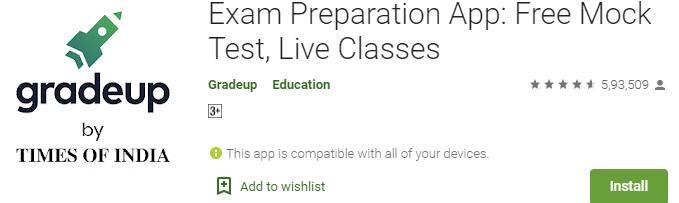 Gradeup App - Learning platform