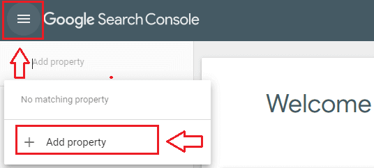 Adding Blog in Search Console