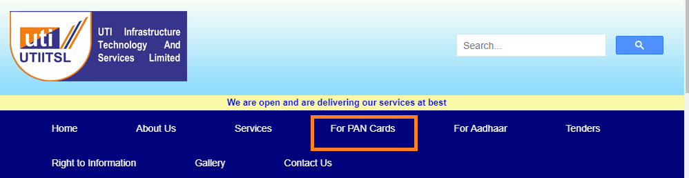 pan card online apply