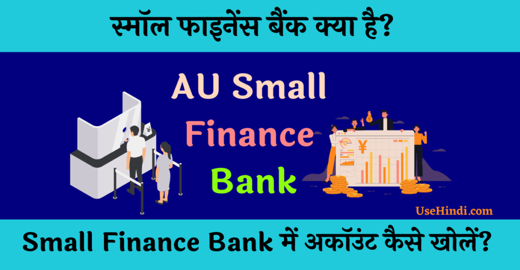 Small Finance Bank in Hindi