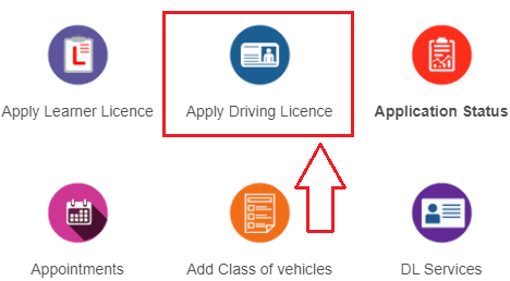 Apply Online Driving License
