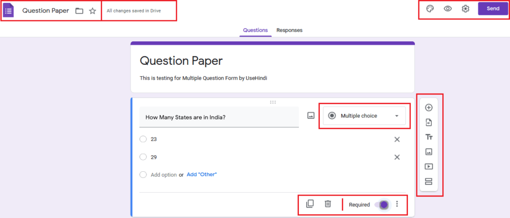 Google Forms How to Create