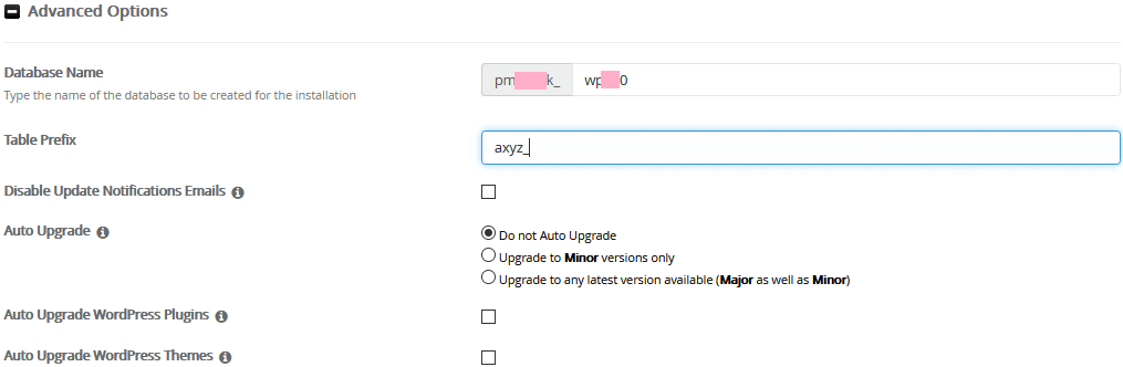 Secure WordPress Database